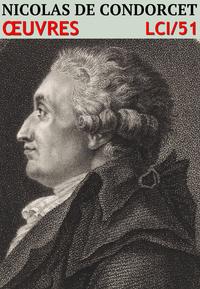 Livre numérique Nicolas de Condorcet