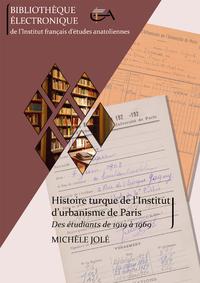 Livre numérique Histoire turque de l'Institut d'urbanisme de Paris